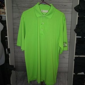 DONALD ROSS MEN'S SZ LARGE GOLF POLO